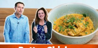 Easy Keto Indian Butter Chicken Recipe   Karen and Eric Berg