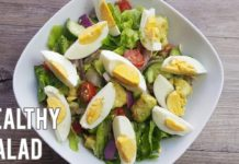 Easy Quick Healthy Salad | Salad Recipes | Avocado Egg Salad Recipe |Cucumber Salad