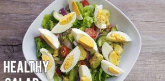 Easy Quick Healthy Salad | Salad Recipes | Avocado Egg Salad Recipe |Cucumber Salad