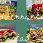 Easy and healthy Mediterranean salad recipe/ diet salad/ chickpeas salad/ Ramadan special