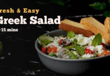 Greek Salad | Salad Recipes | Vegetarian Recipes | Middle Eastern Recipes | Cookd