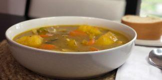 How to make a Vegetarian Haitian Soup Joumou ( Soup Joumou San Vyann)