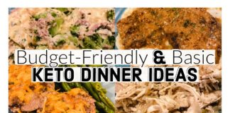 KETO DINNER IDEAS | Basic Keto Recipes ON A BUDGET | Suz and The Crew