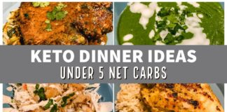 KETO DINNER IDEAS | Dairy Free & Under 5 Net Carbs Each | Suz and The Crew