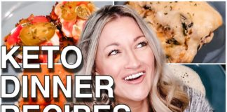KETO DINNER RECIPES | Low Carb Meals | Suz and The Crew