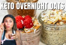 KETO OVERNIGHT OATS 3 WAYS! Easy How To Make Keto Overnight Oats Recipe