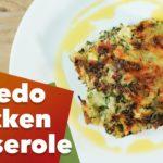 Keto Alfredo Chicken Casserole Recipe
