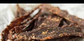 Keto Cajun Beef Jerky Homemade Low Carb Sugar Free Recipe
