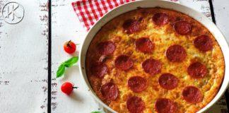 Keto Cheeseburger Pizza Frittata   Keto Recipes   Headbanger's Kitchen