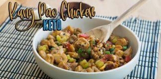 Keto Kung Pao Chicken | One Pot Dinner Recipe
