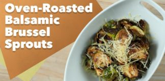Keto Oven-Roasted Balsamic Brussel Sprouts Recipe