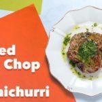 Keto Pan Seared Pork Chop with Chimichurri Recipe