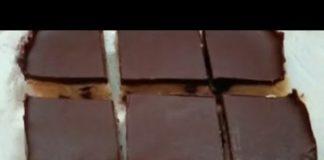 Keto Recipe - NO-BAKE KETO COOKIE DOUGH BARS | Low Carb Cookies | Keto Chocolate Chip Cookies