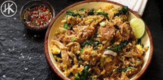 Keto Thai Fried Rice (Khao Pad)   ข้าวผัด   Keto Recipe   Headbanger's Kitchen