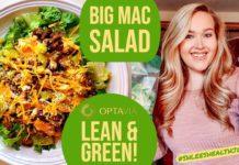 LEAN AND GREEN // BIG MAC SALAD RECIPE // #ShleesHealthJourney