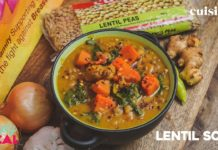 Lentil Soup: Easy & Healthy Vegetarian Recipe