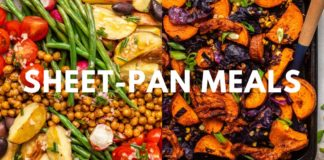 MUST-TRY Vegan Sheet Pan Meals!