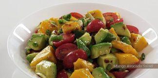 Mango Avocado Salad   10 Minute Recipe   Dish & Devour