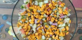 Mixed Vegetable Salad-Easy And Tasty Salad Recipe-Salad For A Healthy Diet