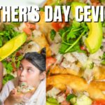 Mother's Day Special Recipe! Easy Keto Ceviche Tostadas