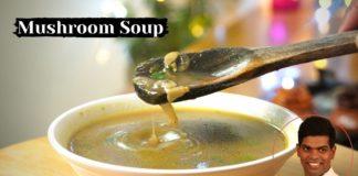 Mushroom Soup Recipe in Tamil    How to Make Mushroom Soup    CDK # 377    Chef Deena's Kitchen