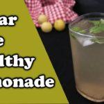 Sugar-Free Healthy Lemonade | Nimbu Paani | z foods