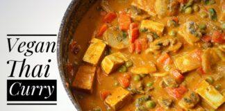 Thai Curry Easy Vegan Recipe