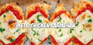 The Best Keto Chicken Parmesan Recipe | Low Carb Italian Recipes