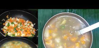Vegetable Soup Recipe || Mix Vegetable Soup || Veg Soup || Soup Recipe