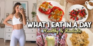 WHAT I EAT IN A DAY | Healthy & Realistic | Easy Recipes