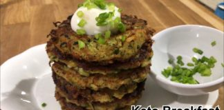 ZUCCHINI FRITTERS|KETO Recipe|Healthy Breakfast|Paleo Diet|Gluten-free, low-carb, |Paleo |Keto|LCHF