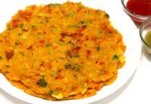 ओट्स के चिल्ले | Oats Chilla Recipe | Oats Pancake | Healthy Breakfast Recipe | KabitasKitchen