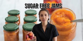 101 to homemade sugar free jams   nectarine