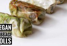 Cabbage Rolls Vegan Recipe