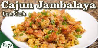 Cajun Jambalaya – Low Carb Keto Recipe