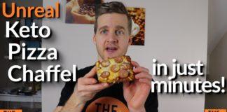 Chaffle Keto Recipe | Keto Pizza Chaffle | Chaffle Recipe | Quick Keto Pizza  Keto Chaffles