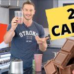 Chocolate Raspberry Keto Smoothie Recipe (2g Net Carbs per Serving!)