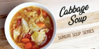 Classic Cabbage Soup Recipe    Sunday Soup