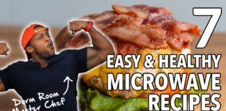 College Dorm MasterChef - 7 Easy, Healthy Microwave Recipes  / 7 Recetas Cocinadas en el Microondas