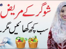 Diet Plan For Sugar/Diabetic Patient By Yumna Chattha  Diabetic Plan Urdu/Hindi   QAS Health