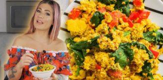 Here Is My Easy + Vegan TOFU SCRAMBLE Recipe