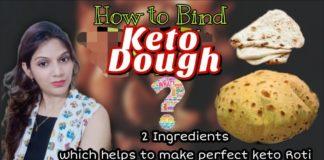 How to Bind Keto Dough   How to Make Perfect Keto Atta Roti   Non Sticky BEST Keto Dough