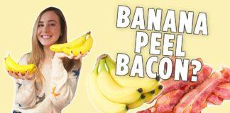 How to Make Banana Peel Bacon   Vegan Bacon Recipe   We Tried It