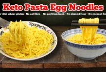 🍝 Keto Spaghetti & Keto Egg Noodle Recipe | Best Keto Pasta & Noodle Substitute 🍜