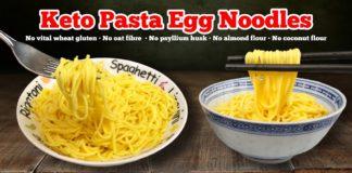 🍝 Keto Spaghetti & Keto Egg Noodle Recipe   Best Keto Pasta & Noodle Substitute 🍜