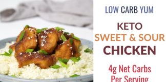 Keto Sweet and Sour Chicken Recipe