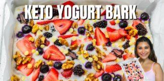 Keto Yogurt Bark! Easy Dairy Free Keto Yogurt Bars YOU Have to Make!