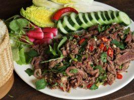 "Lao Beef Salad ""Lap Ngoua"": The Best Dish of Laos - Morgane Recipes"