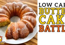 Low Carb KENTUCKY BUTTER CAKE 🧈 The BEST Keto Butter Cake Recipe!