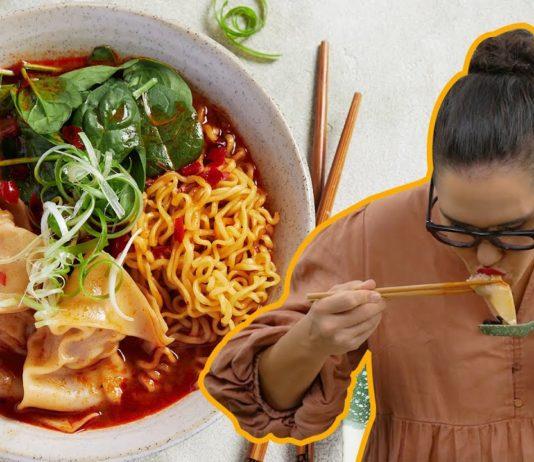 My best dumpling hack EVER... beef wonton noodle soup in just 15 minutes    Marion's Kitchen
